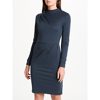 Numph Alani Jersey Dress, Total Eclipse