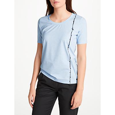 Numph Adasha T-Shirt, Baby Blue Melange