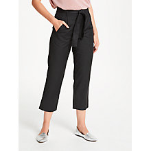 Buy Numph Adalyn Trousers, Caviar Online at johnlewis.com