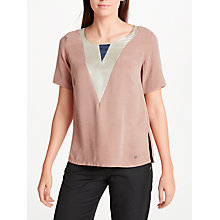 Buy Numph Agacia Blouse, Cameo Brown Online at johnlewis.com
