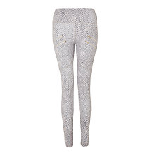 Buy Varley Palms Leggings, Rattlesnake Online at johnlewis.com