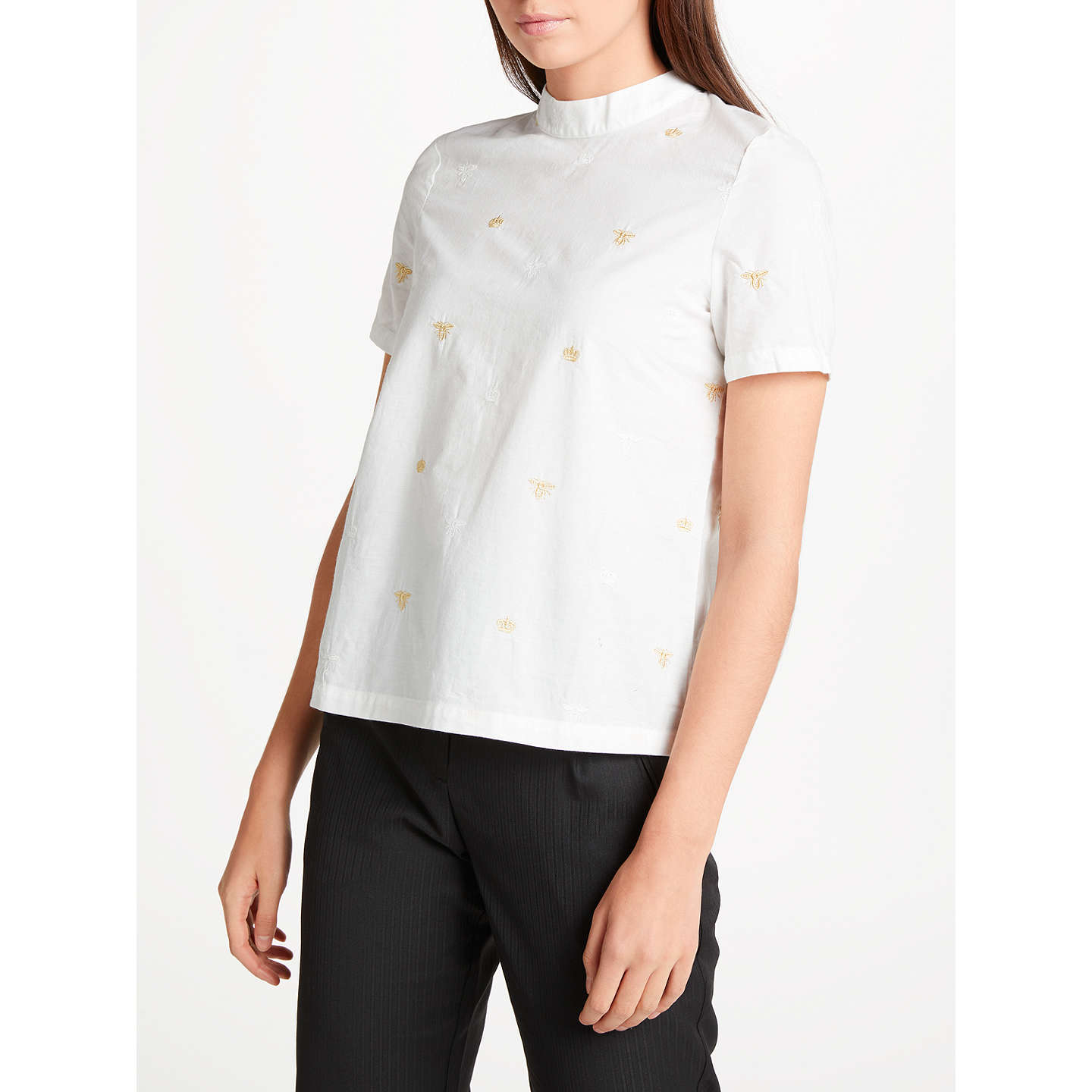 BuyNumph Berenice Blouse, Pristine, 8 Online at johnlewis.com