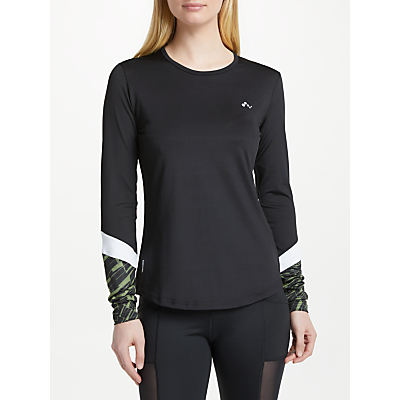 ONLY PLAY Persia Training Top, Black