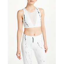 Buy Varley Terri Crop Top, Ink Marble Online at johnlewis.com
