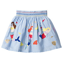 Buy Mini Boden Girls' Colourful Mermaid Skirt, Blue Online at johnlewis.com