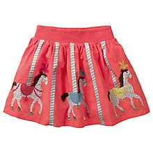 Buy Mini Boden Girls' Circus Applique Skirt, Pink Online at johnlewis.com