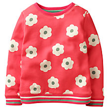 Buy Mini Boden Girls' Cosy Sweatshirt, Pink Online at johnlewis.com