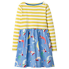 Buy Mini Boden Girls' Hotchpotch Dress, Blue Online at johnlewis.com