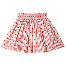 Buy Mini Boden Girls' Circus Spot Skirt, Red Online at johnlewis.com