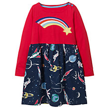 Buy Mini Boden Girls' Hotchpotch Dress, Navy Online at johnlewis.com