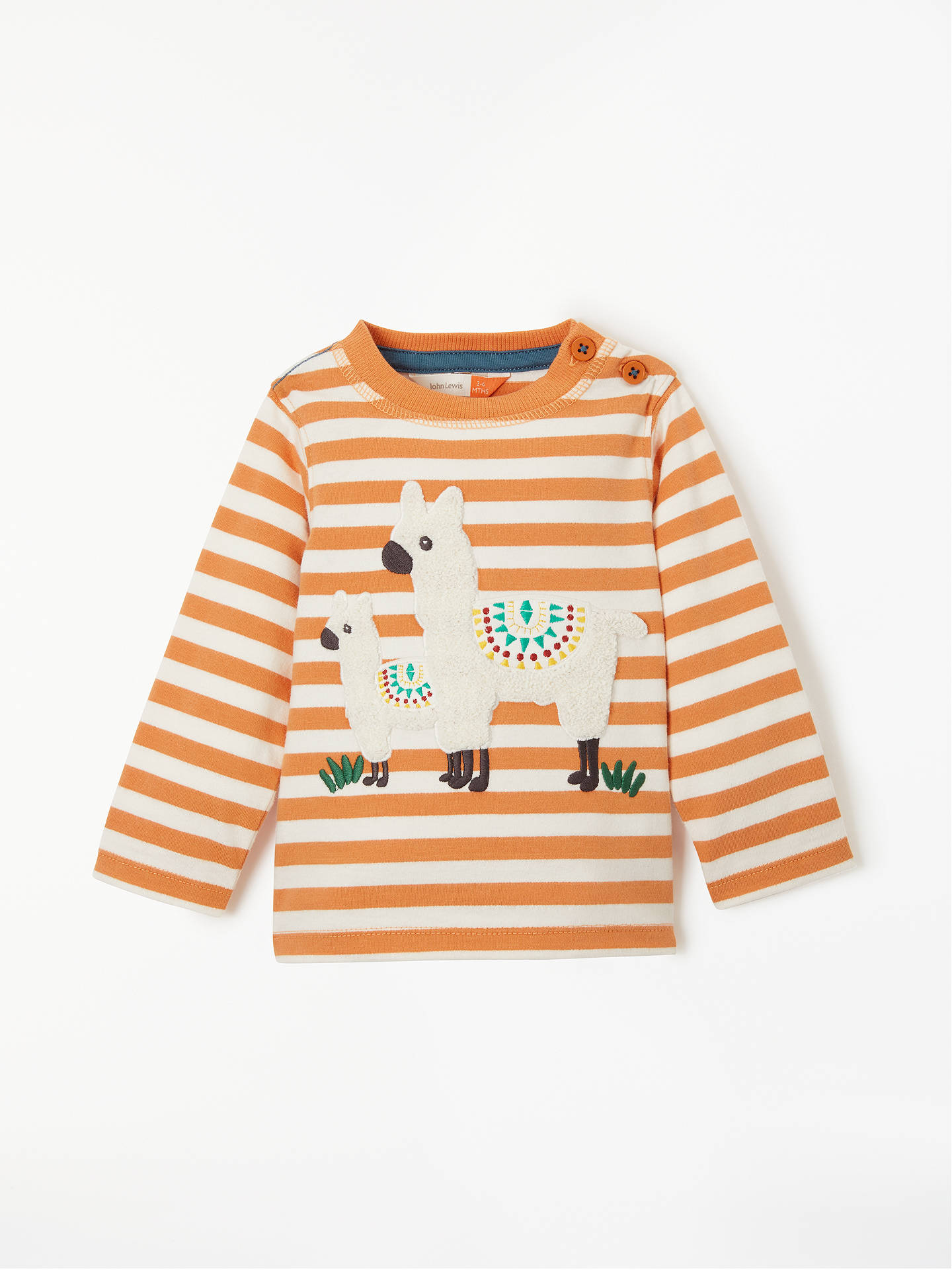 36c687c73a93 John Lewis   Partners Baby Llama T-Shirt