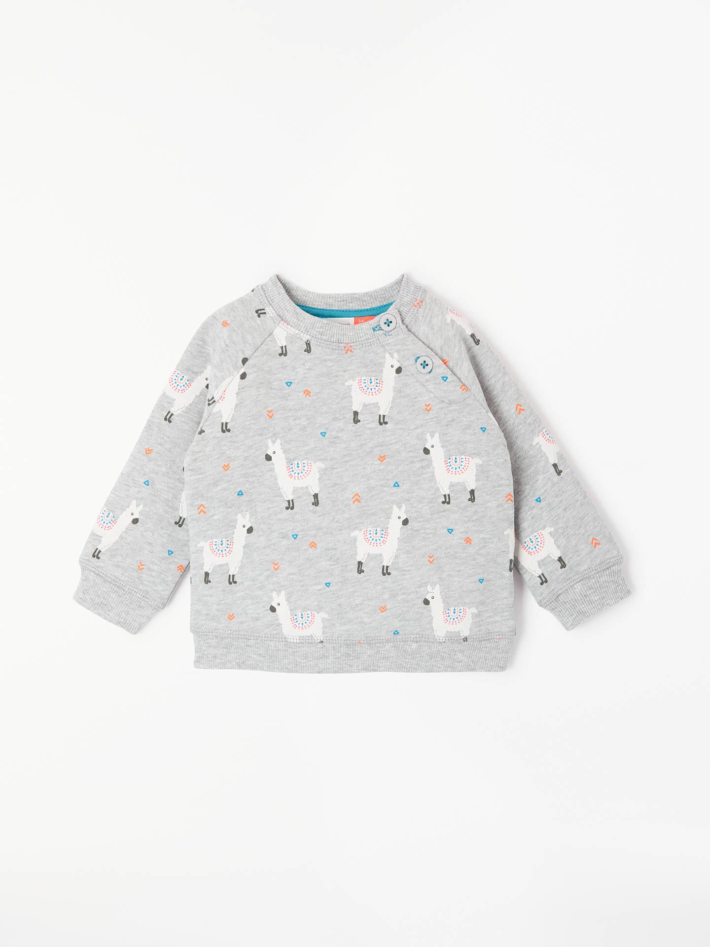 BuyJohn Lewis   Partners Baby Llama Sweatshirt ebeae88de