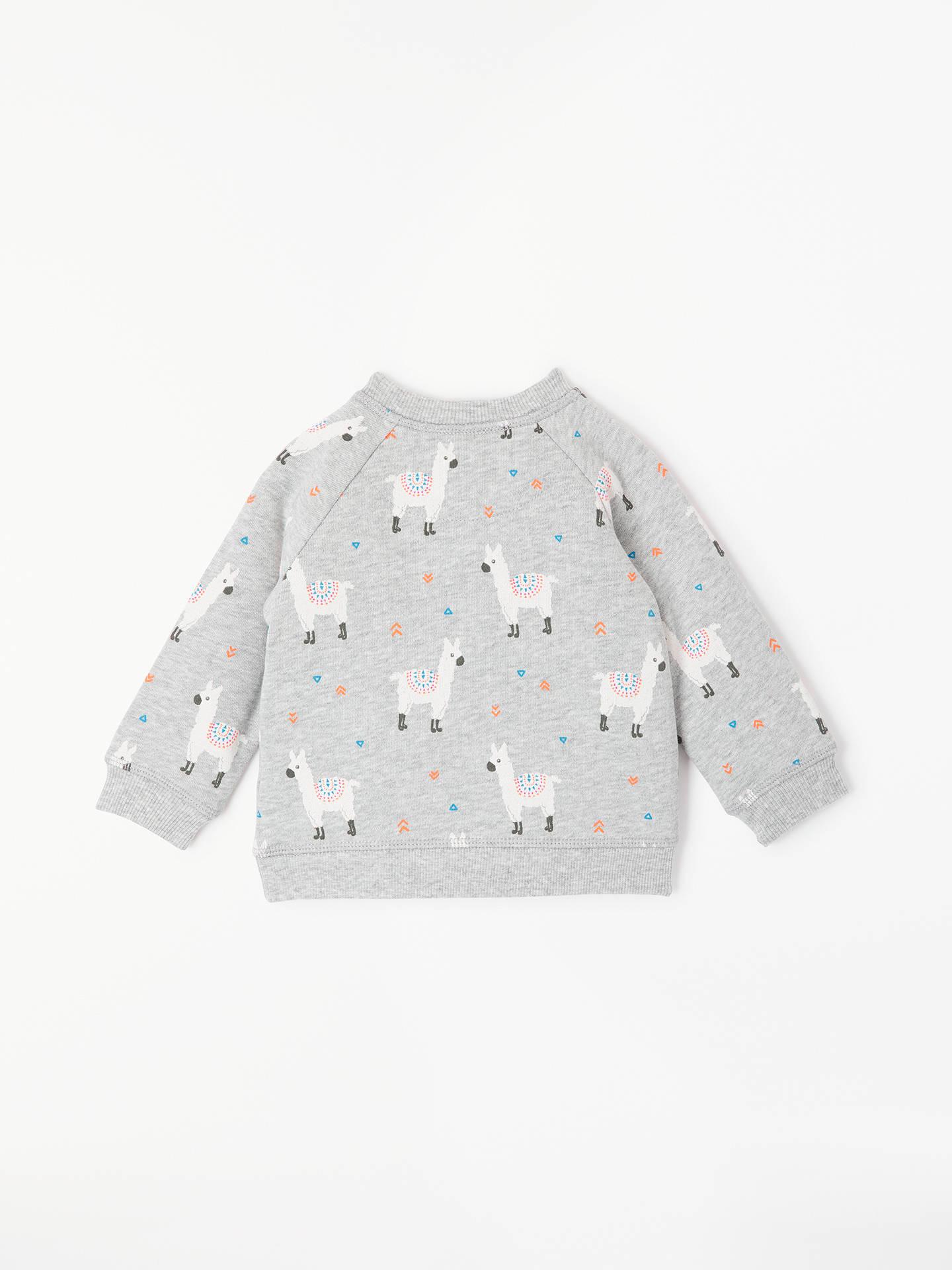 1de62e0a6772 John Lewis   Partners Baby Llama Sweatshirt