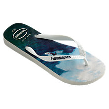 Buy Havaianas Surfer Print Flip Flops, Multi Online at johnlewis.com