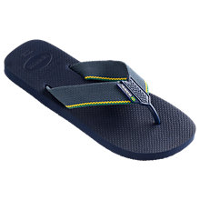 Buy Havaianas Urban Brasil Logo Flip Flops, Multi Online at johnlewis.com