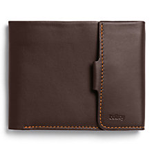 Buy Bellroy Leather Coin Fold, Brown Online at johnlewis.com