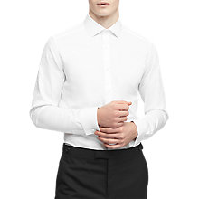 Buy Reiss Detroller Double Cuff Slim Fit Shirt Online at johnlewis.com