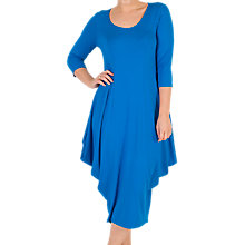 Buy Chesca Princess Seam Jersey Dress, Azure Online at johnlewis.com