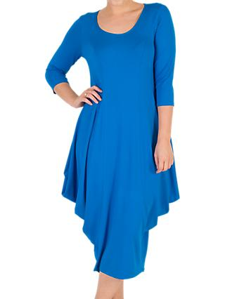 Chesca Princess Seam Jersey Dress, Azure