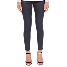Buy Ted Baker Coated Skinny Denim Jeans, Grey Online at johnlewis.com