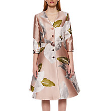 Buy Ted Baker Chatsworth Dress Coat, Dusky Pink Online at johnlewis.com