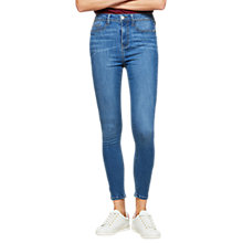 Buy Miss Selfridge Super High Waist Jeggings, Blue Online at johnlewis.com