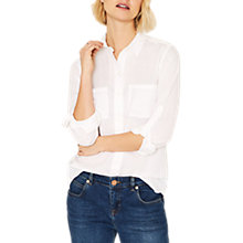 Buy Oasis Cotton Shirt Online at johnlewis.com