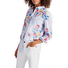 Buy Joules Laurel Shirt, Blue/White Online at johnlewis.com