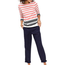 Buy Joules Monaco Drawstring Trousers, French Navy Online at johnlewis.com