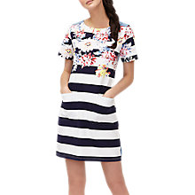 Buy Joules Bold Stripe Print Dress, Multi Online at johnlewis.com