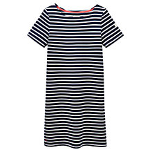 Buy Joules Stripe Jersey Dress, Navy Online at johnlewis.com