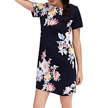 Buy Joules Short Sleeve Print Jersey Dress, Multi Online at johnlewis.com