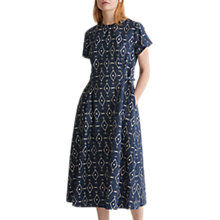 Buy Toast Hanne Linen Cotton Dress, Sapphire Online at johnlewis.com