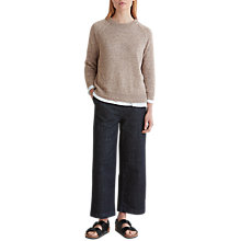 Buy Toast Linen Knit Sweater, Oatmeal Online at johnlewis.com