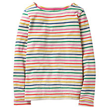 Buy Mini Boden Girls' Breton T-Shirt, Multi Online at johnlewis.com
