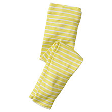 Buy Mini Boden Girls' Fun Leggings, Yellow Online at johnlewis.com