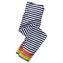 Buy Mini Boden Girls' Fun Leggings, Blue Online at johnlewis.com