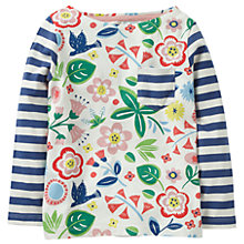 Buy Mini Boden Girls' Hotchpotch Pocket T-Shirt, Multi Online at johnlewis.com
