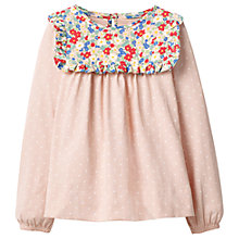 Buy Mini Boden Girls' Frilly Smock Top Online at johnlewis.com