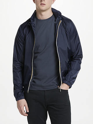 Buy K-Way Philippe Harrington Jacket, Blue Depths, S Online at johnlewis.com