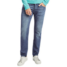 Buy BOSS Orange Tapered Stretch Skinny Jeans, Blue Online at johnlewis.com
