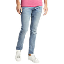 Buy BOSS Orange 72 Stretch Skinny Jeans, Blue Online at johnlewis.com