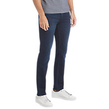 Buy BOSS Orange 63 Slim Jeans, Navy Online at johnlewis.com