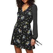 Buy Miss Selfridge Holly Floral Tea Dress, Multi Online at johnlewis.com