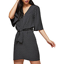 Buy Miss Selfridge Spot Wrap Dress, Multi Online at johnlewis.com