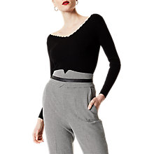 Buy Karen Millen Scallop Rib Jumper Online at johnlewis.com