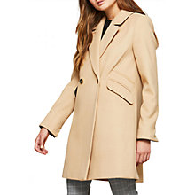 Buy Miss Selfridge Double-Breasted Coat Online at johnlewis.com