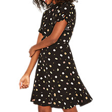 Buy Oasis Spaced Daisy Print Tea Dress, Multi/Black Online at johnlewis.com