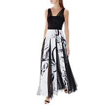 Buy Coast Sassi Maxi Dress, Black/White Online at johnlewis.com