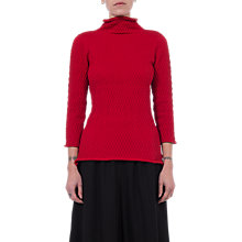 Buy French Connection Molly Mozart Knit Jumper, Blazer Red Online at johnlewis.com